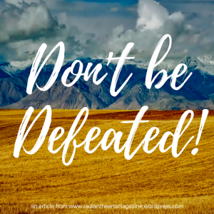 Don't be Defeated! 1