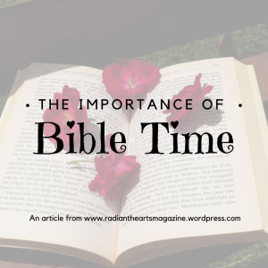 The Importance of Bible Time graphics
