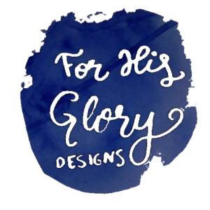 For His Glory Designs logo